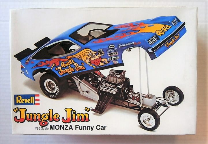 REVELL 1/25 H-1469 MONZA FUNNY CAR JUNGLE JIM