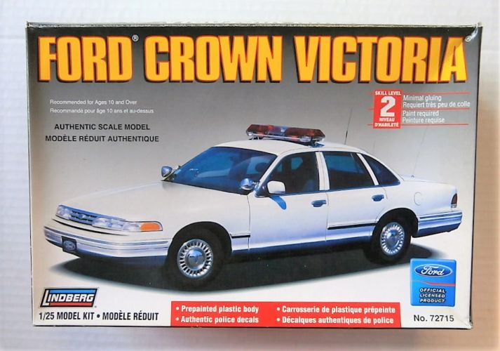 LINDBERG 1/25 72715 FORD CROWN VICTORIA