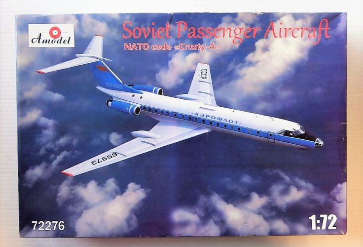 A MODEL 1/72 72276 SOVIET PASSENGER AIRCRAFT CRUSTY A