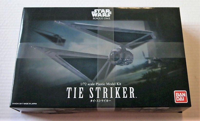 BANDAI 1/72 0214474 STAR WARS ROGUE ONE TIE STRIKER
