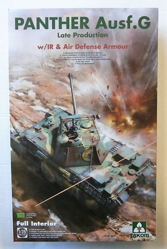 TAKOM 1/35 2121 PANTHER AUSF.G LATE PRODUCTION WITH IR   AIR DEFENSE ARMOUR  UK SALE ONLY