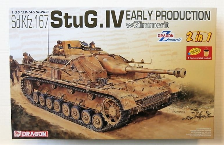 DRAGON 1/35 6615 SD.KFZ.167 STUG.IV EARLY PRODUCTION WITH ZIMMERIT