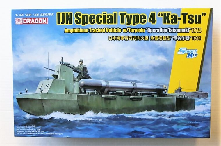 DRAGON 1/35 6849 IJN SPECIAL TYPE 4 KA-TSU WITH TORPEDO