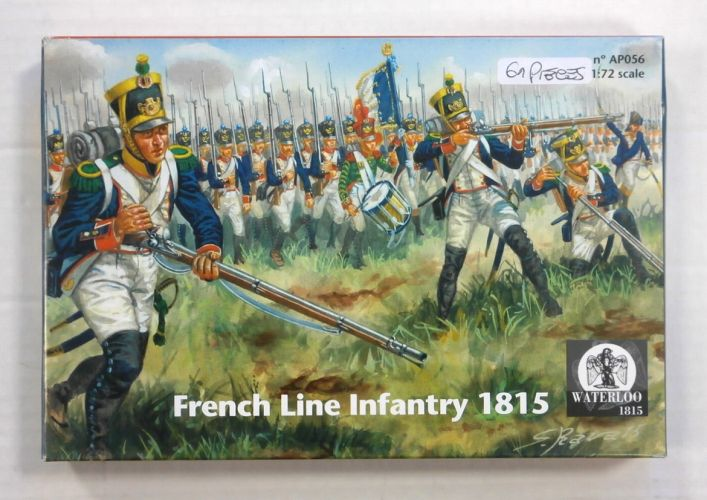 WATERLOO 1/72 AP056 FRENCH LINE INFANTRY 1815