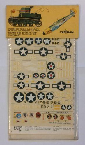 ESCI 1/72 1507. 42 USA GRUMMAN TBF/TBM AVENGER CURTISS SB2C HELLDIVER