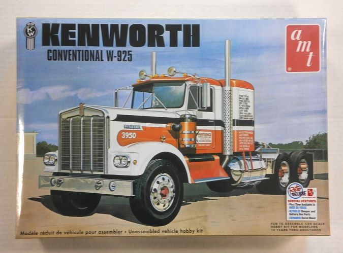 AMT 1/25 1021 KENWORTH CONVENTIONAL W-925