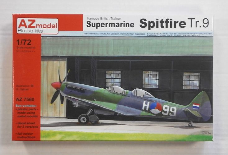 AZ MODEL 1/72 7560 SUPERMARINE SPITFIRE Tr.9