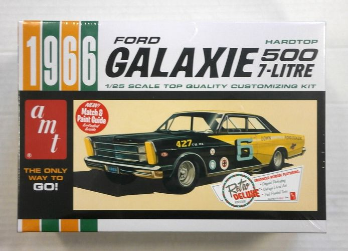 AMT 1/25 904 1966 FORD GALAXIE HARDTOP 500 7-LITRE