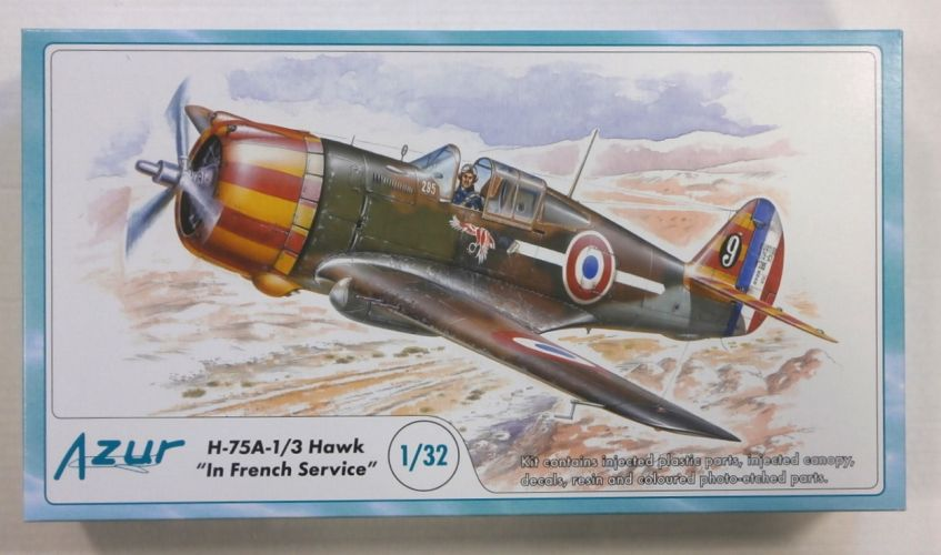 AZUR 1/32 A045 H-75A-1/3 HAWK IN FRENCH SERVICE