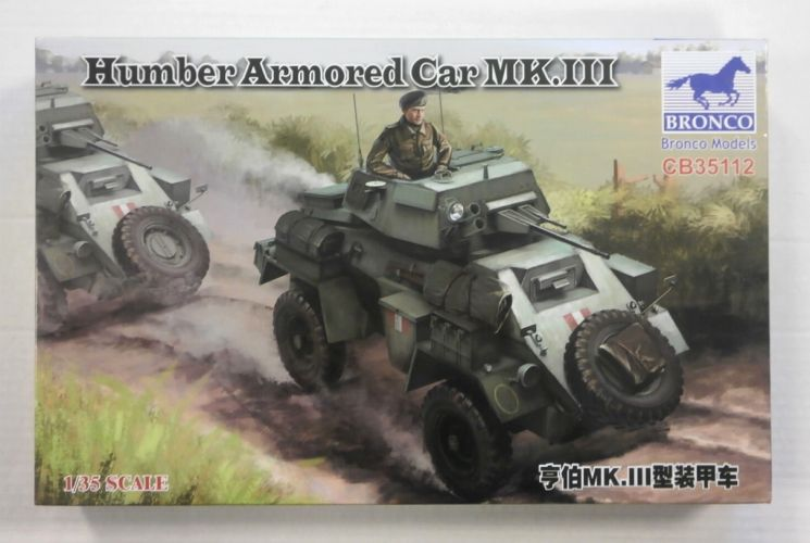 BRONCO 1/35 35112 HUMBER ARMOURED CAR Mk.III