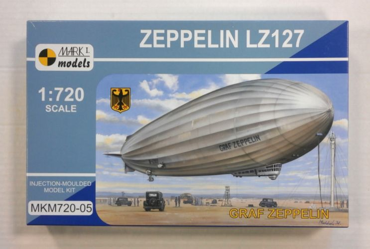 MARK I MODELS 1/720 72005  ZEPPELIN LZ127