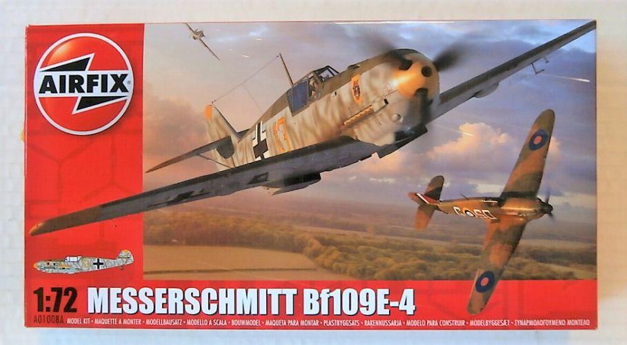 AIRFIX 1/72 01008A MESSERSCHMITT BF109E-4