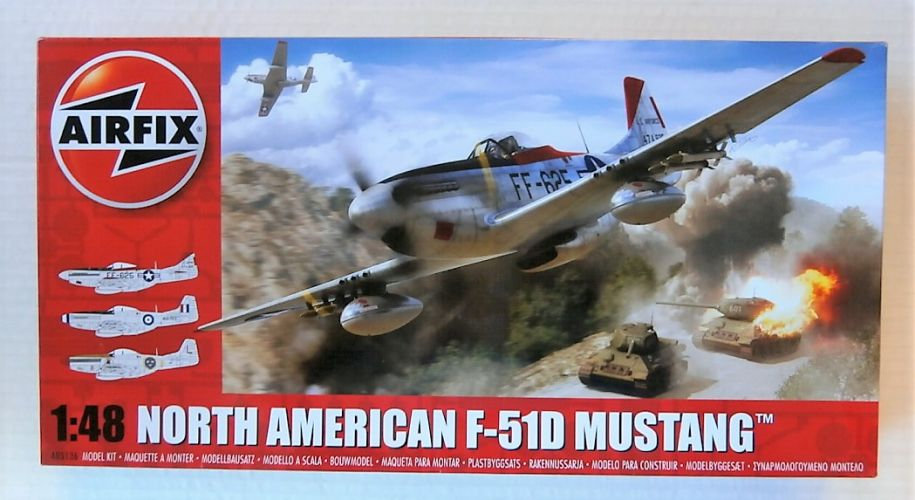 AIRFIX 1/48 05136 NORTH AMERICAN F-51D MUSTANG