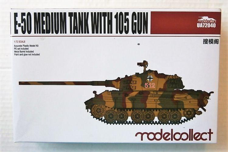 MODELCOLLECT 1/72 72040 E-50 MEDIUM TANK WITH 105 GUN