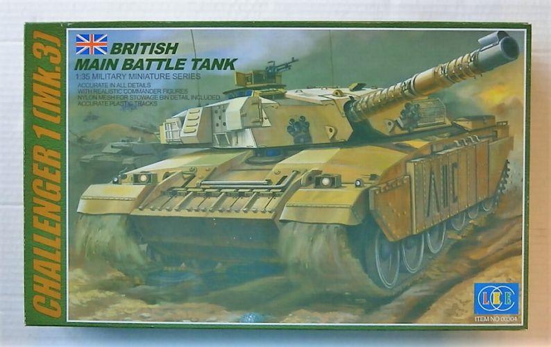 LEE 1/35 00304 CHALLENGER 1 MK.3 BRITISH MBT