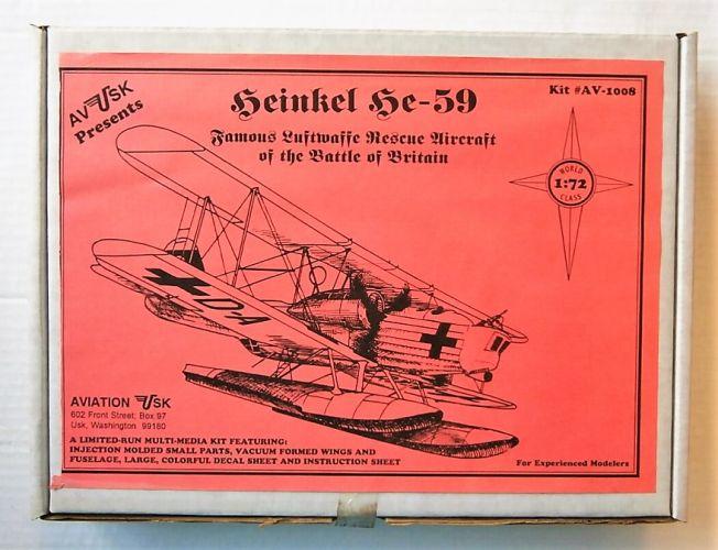 AVIATION USK 1/72 1008 HEINKEL HE-59