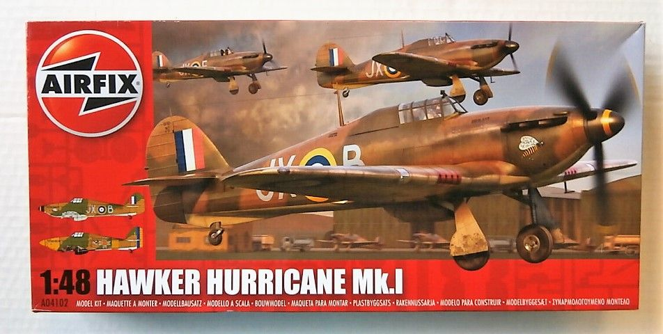 AIRFIX 1/48 04102 HAWKER HURRICANE MK.I