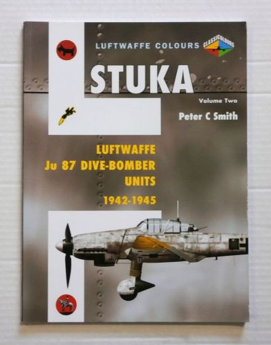 CHEAP BOOKS  ZB807 LUFTWAFFE COLOURS STUKA VOL. TWO 1942-1945
