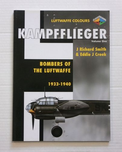 CHEAP BOOKS  ZB808 LUFTWAFFE COLOURS KAMPFFLIEGER VOL.ONE 1933-1940