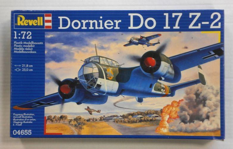 REVELL 1/72 04655 DORNIER Do 17Z-2