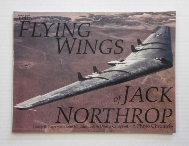 CHEAP BOOKS  ZB817 THE FLYING WINGS OF JACK NORTHROP