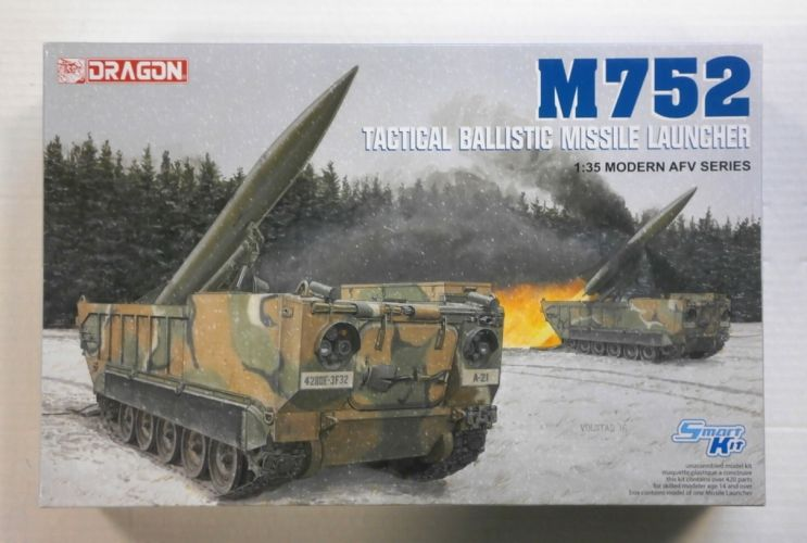 DRAGON 1/35 3576 M752 TACTICAL BALLISTIC MISSILE LAUNCHER