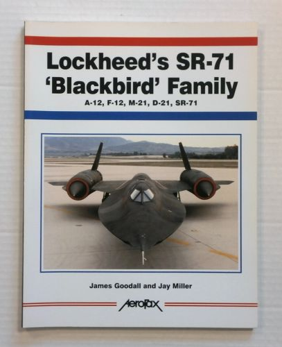 CHEAP BOOKS  ZB822 LOCKHEEDS SR-71 BLACKBIRD FAMILY
