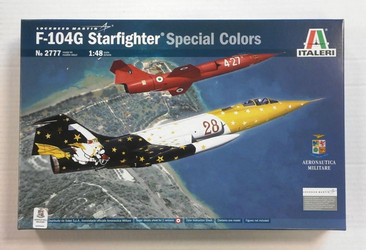 ITALERI 1/48 2777 F-104G STARFIGHTER SPECIAL COLORS
