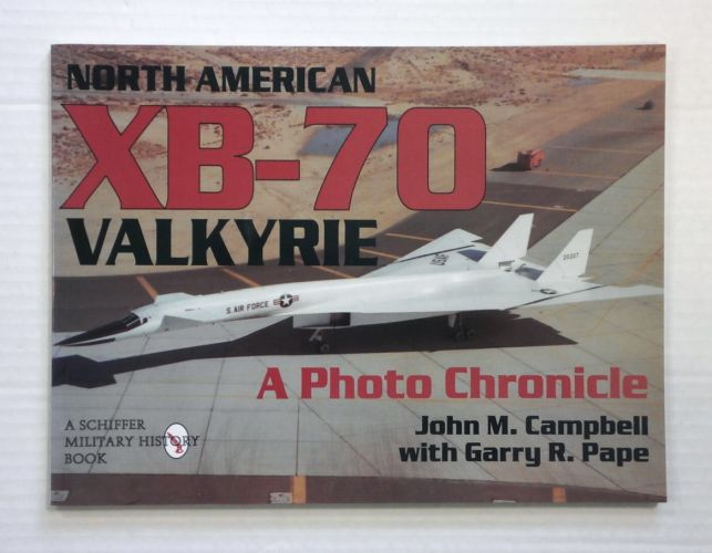 CHEAP BOOKS  ZB825 NORTH AMERICAN XB-70 VALKYRIE