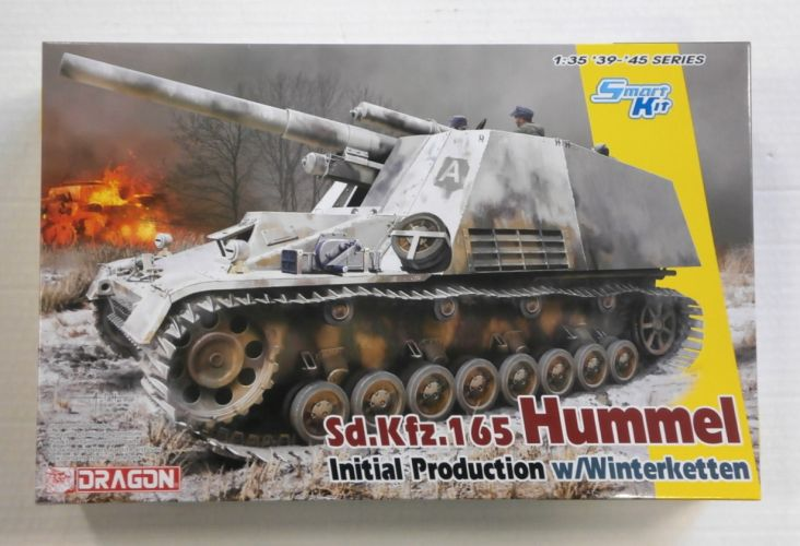 DRAGON 1/35 6876 Sd.Kfz.165 HUMMEL INITIAL PRODUCTION w/WINTERKETTEN