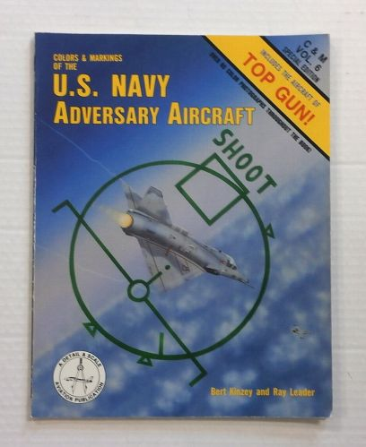 CHEAP BOOKS  ZB828 COLORS   MARKINGS OF THE U.S. NAVY ADVERSARY AIRCRAFT