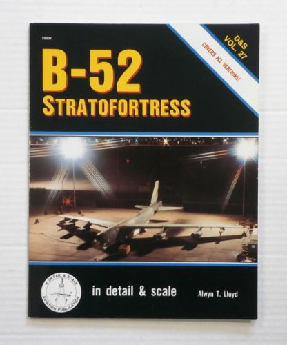 CHEAP BOOKS  ZB829 DETAIL   SCALE VOL. 27 B-52 STRATOFORTRESS