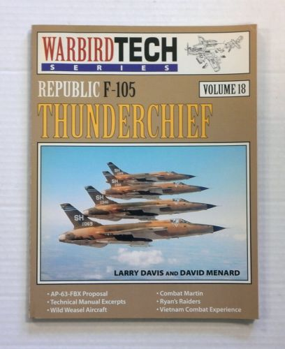 CHEAP BOOKS  ZB832 WARBIRD TECH VOL 18 REPUBLIC F-105 THUNDERCHIEF