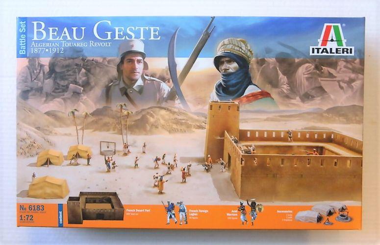 ITALERI 1/72 6183 BEAU GESTE ALGERIAN TOUAREG REVOLT 1877-1912