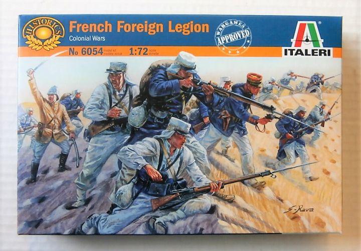 ITALERI 1/72 6054 FRENCH FOREIGN LEGION