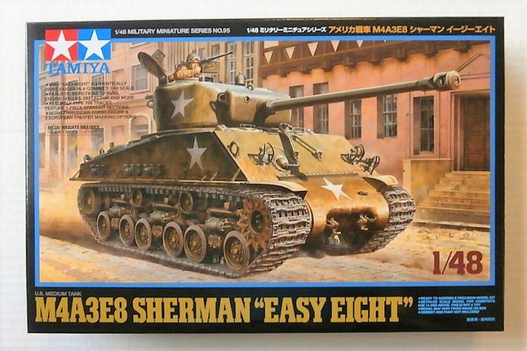 TAMIYA 1/48 32595 M4A3E8 SHERMAN EASY EIGHT