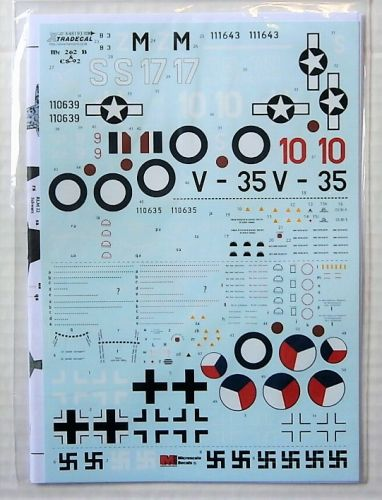 XTRADECAL 1/48 48193 ME 262 B-1A/ B-1A U1 AND AVIA CS-92