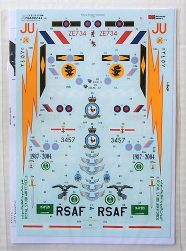 XTRADECAL 1/72 48194 PANAVIA TORNADO F.3 COLLECTION