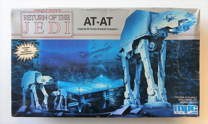 MPC  8919 STAR WARS RETURN OF THE JEDI AT-AT