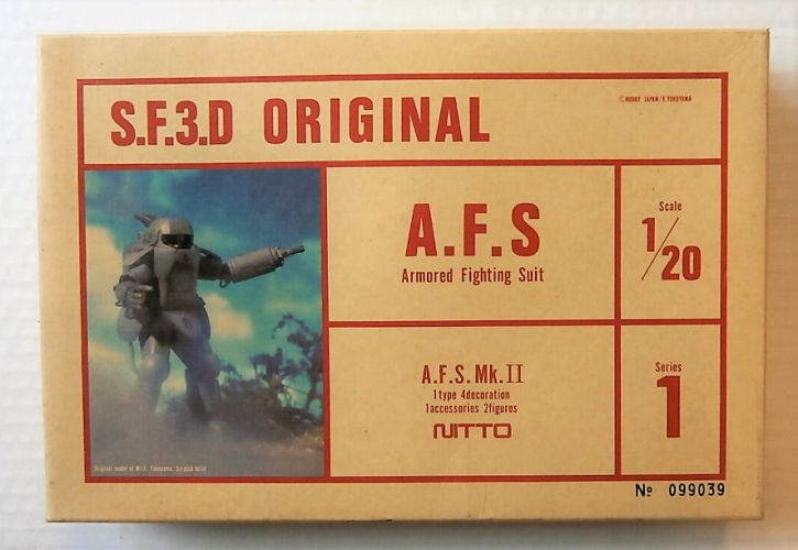 NITTO 1/20 23072 A.F.S MK.II  ARMOURED FIGHTING SUIT