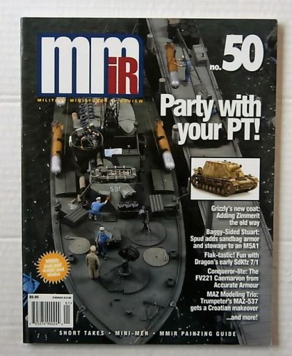 CHEAP BOOKS  ZB3173 MILITARY MINIATURES IN REVIEW No 50