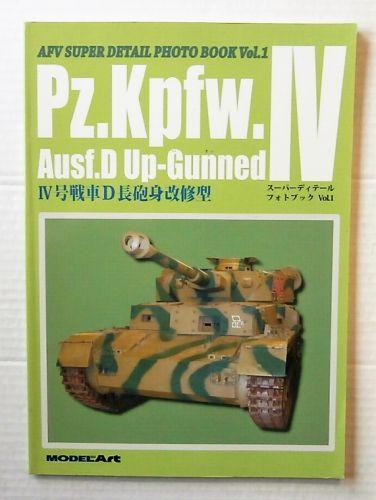 CHEAP BOOKS  ZB3195 AFV SUPER DETAIL PHOTO BOOK VOL.1 - Pz.Kpfw.IV Ausf.D UP-GUNNED