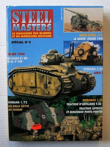 CHEAP BOOKS  ZB3201 STEEL MASTERS SPECIAL No 2  FRENCH TEXT