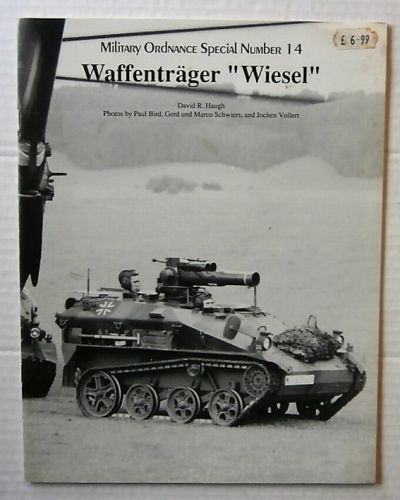 CHEAP BOOKS  ZB3212 MILITARY ORDNANCE SPECIAL NUMBER 14 - WAFFENTRAGER WIESEL