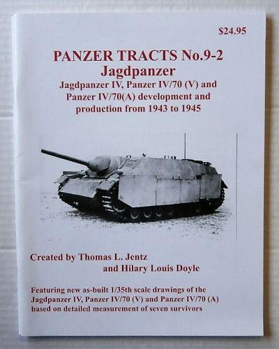 CHEAP BOOKS  ZB3214 PANZER TRACTS No.9-2 - JAGDPANZER