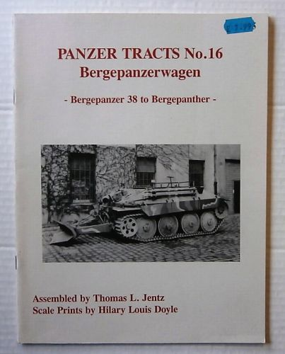 CHEAP BOOKS  ZB3215 PANZER TRACTS No.16 - BERGEPANZERWAGEN