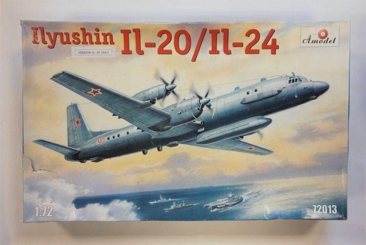 A MODEL 1/72 72013 ILYUSHIN IL-20/IL-24