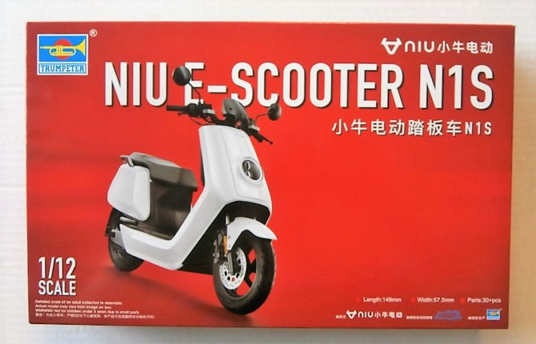 TRUMPETER 1/12 07305 NIU E-SCOOTER N1S