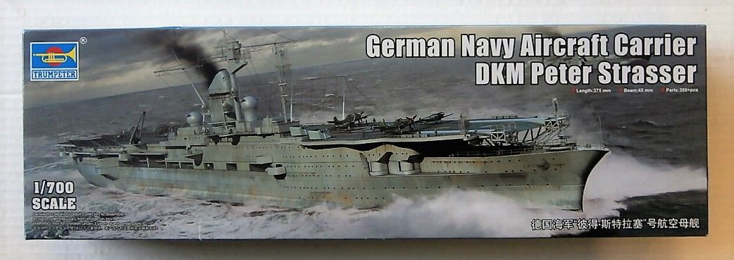 TRUMPETER 1/700 06710 DKM PETER STRASSER GERMAN NAVY AIRCRAFT CARRIER