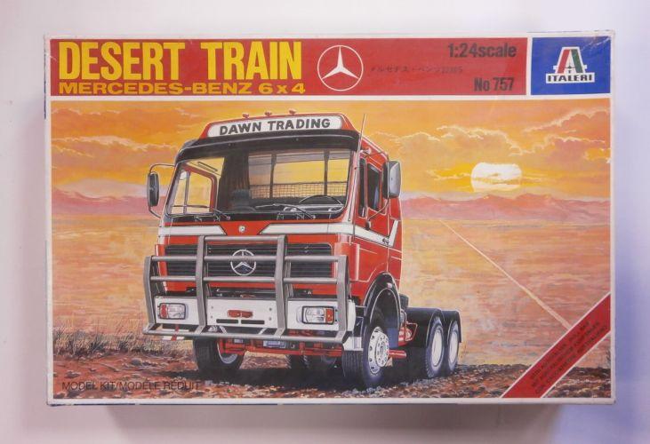 ITALERI 1/24 757 DESERT TRAIN MERCEDES-BENZ